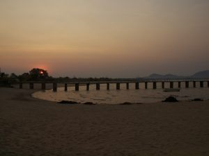 Abendlicher Spaziergang Lake Malawi