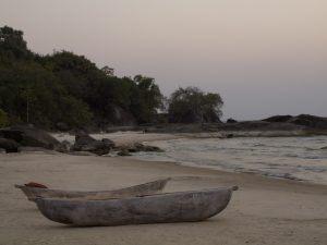Küste Lake Malawi