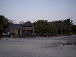 Restaurant am Lake Malawi