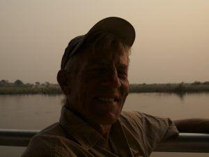 Namibia Rundreise Selbstfahrer-Erfahrungen. Enjoying the sunset on the Chobe River