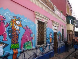 Graffiti Walking Tour Bogota. What to do.