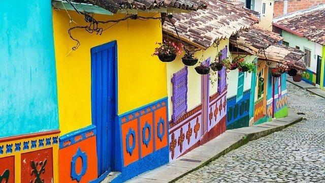 Colorful Bogota, Colombia