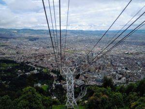 Cable Car Cerro de Montserrate. fun things to do in bogota.