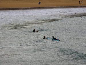 Surfing San Sebastián