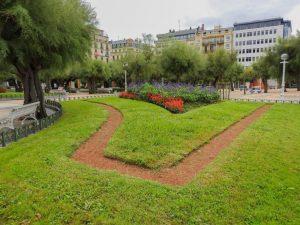 Parks in San Sebastián, Spain