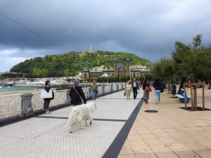 Promenade at San Sebastián, Spain