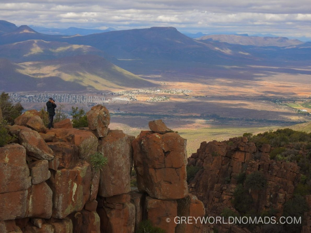 The Valley of desolation South Africa