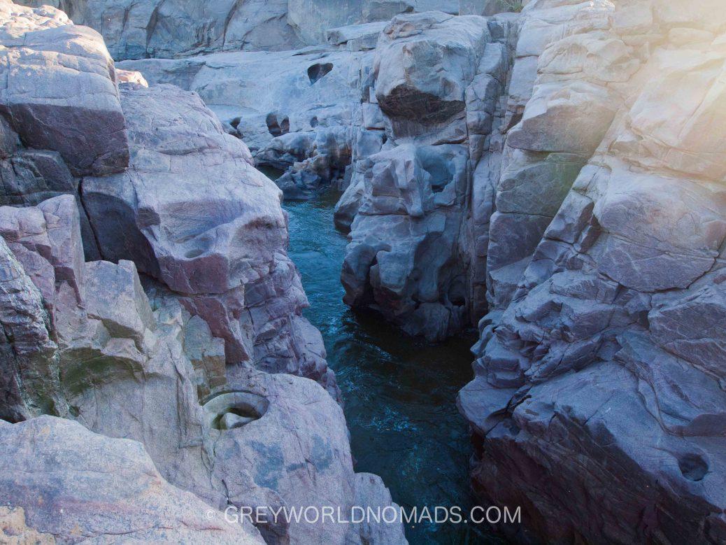 Wasserfall in Südafrika, Oranje Fluss