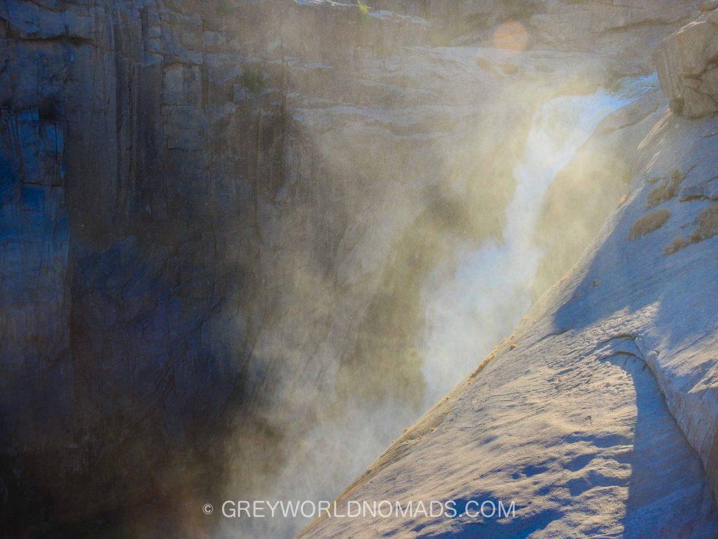 Wasserfall in Südafrika