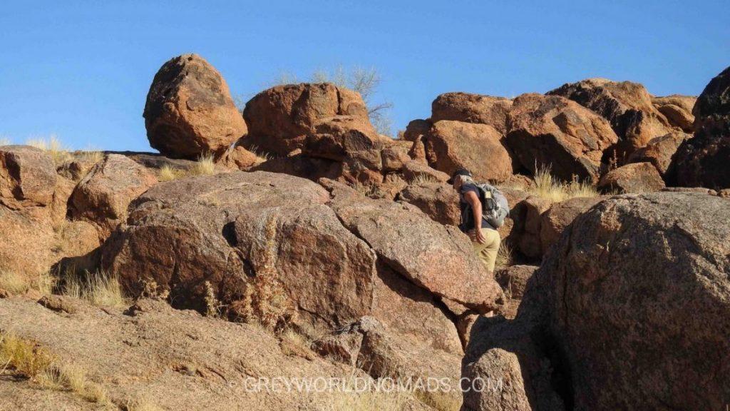 Wandern Augrabies, South Africa