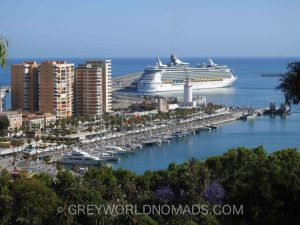 Malaga Spain Points of Interest: Harbor