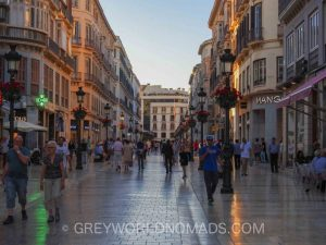 City Center - Malaga Spain Points of Interest
