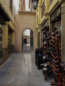 Alcaiceria Granada Spain
