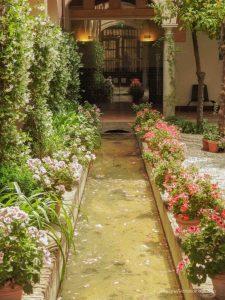 Gardens Alhambra Granada Spain