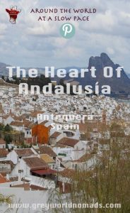 A Moorish fortress towering over a medieval town in the heart of Andalusia, Spain. No, it's not about famous Granada, it's Antequera - Florence of Andalusía.