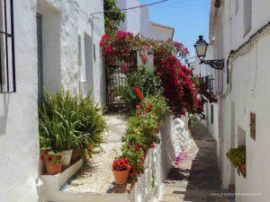 beautiful spanish villages. frigiliana blog.