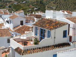 most beautiful villages in spain. frigiliana andalusia spain.