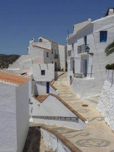 most beautiful village in spain. the white villages of andalucia.