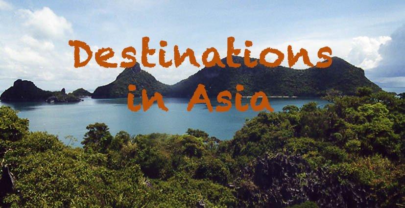 Destinations Asia - Travel