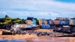 Great place to stay in the UK: Pembrokeshire National Park, Tenby Pembrokeshire.