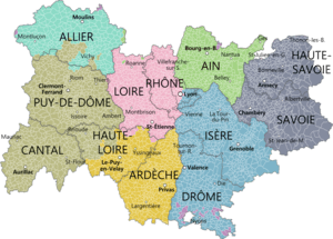 Region Auvergne-Rhône-Alpes - emigrating to France - best places to live in france for expats