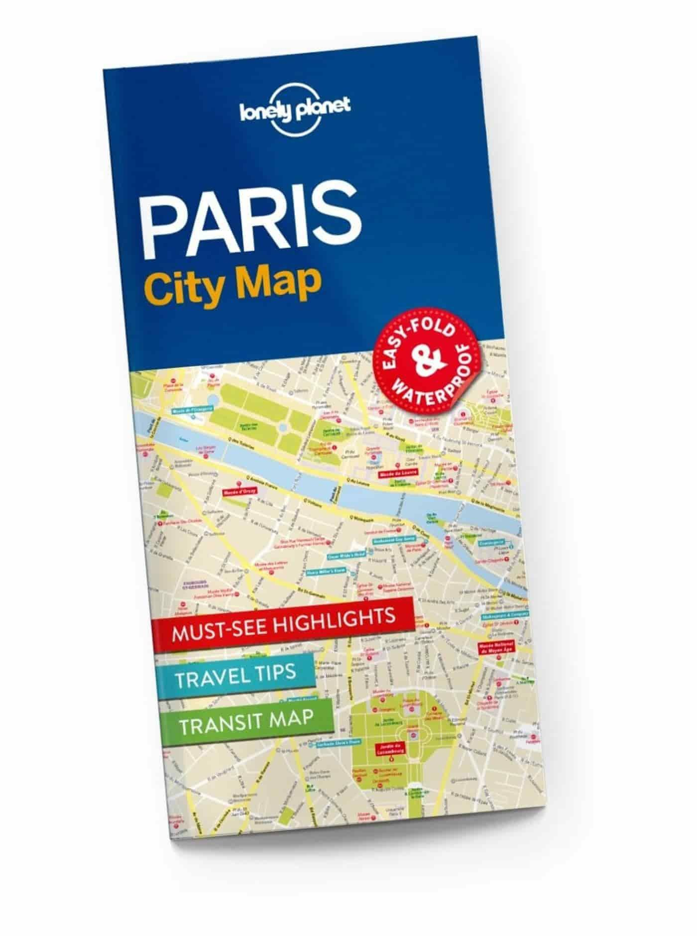 paris attractions map